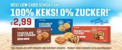NEU!  100% Keks! Low Sugar Sensation!