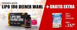 Angebot Fatburner LIPO + GRATIS Protein