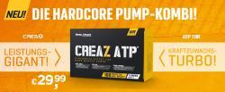 CREAZ ATP - Die Hardcore Pump-Kombi