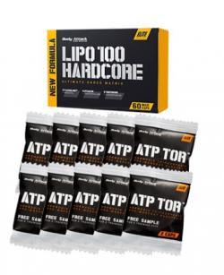 Be shredded! Aktionspaket - Lipo100 Hardcore + 10x ATP Tor
