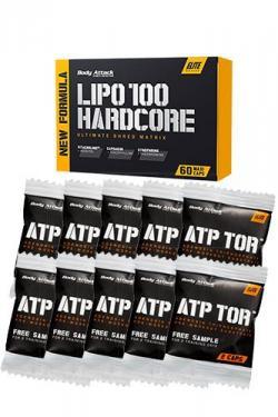 LIPO 100 HARDCORE - 60 Caps + 10er ATP TOR - 2 Caps *AKTIONSPAKET