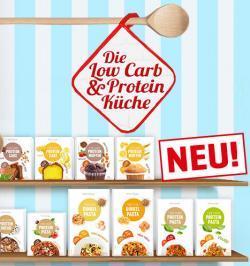 Die neue Low Carb & Protein Küche!