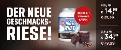 Der neue Geschmacksriese 100% Whey Protein!