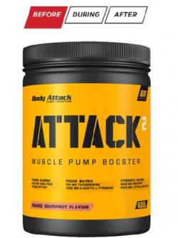 ATTACK² in drei neuen Geschmacksrichtungen!! Shaker gratis!