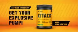 Booster Attack2 – 600 g jetzt mit GRATIS Shaker!