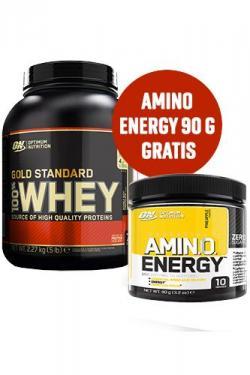 ++ 100% GOLD STANDARD + GRATIS AMINO ENERGY +++