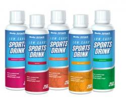 Unsere neuen Minis! Low Carb Sports Drink in 250ml