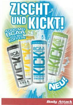 Neue BCAA Drinks