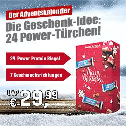Der Body Attack Adventskalender