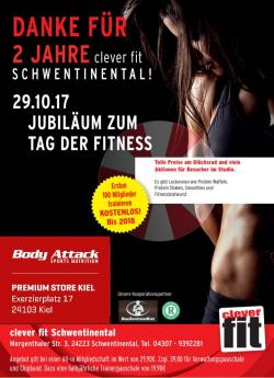 +++ TAG DER FITNESS BEIM CLEVER FIT +++