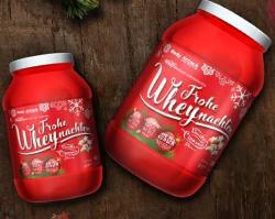 Frohe WHEYnachten! Whey als Weihnachts-Edition!