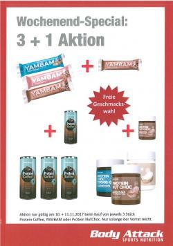 **3+1 Aktion** Wochenend-Special!!!!!