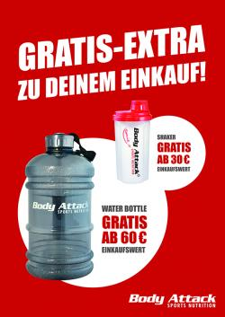 BA Shaker oder Water Bottle GRATIS!!!