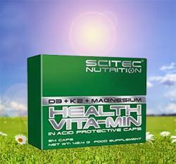 Vitamin D3 + k2 & Magnesium!