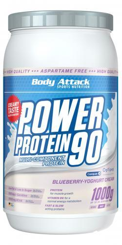 Power Protein 90 in Blueberry Cream