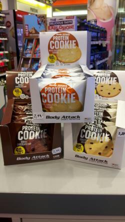 NEU!!! Protein Cookie mit 40g Eiweiß