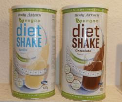 NEU! Body Attack Diät Shake VEGAN!