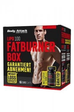 Sixpack-Attack mit Weight-Loss-Effekt! Lipo 100 Fatburner Box MEN