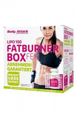 Burn Baby Burn! Neu bei uns: Lipo 100 Fatburner Box FEM
