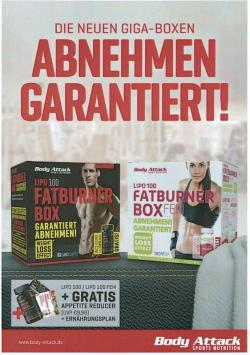 Body Attack - Fatburner Box