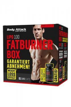 Sixpack-Attack !!Lipo 100 Fatburner Box MEN