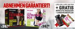 Mit den Fatburner Boxen für Sie und Ihn zum Wunschgewicht