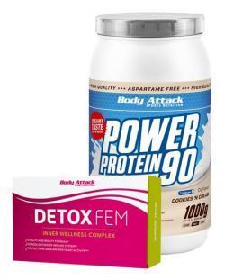 P90 1kg + 1x Detox FEM gratis