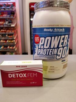 Power Protein 90 mit der extra Portion Detox