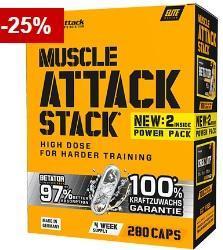 Muscle Attack Stack! Mehr Leistung! Mehr Kraft!