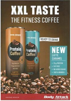NEU - Protein Coffee Latte Caramel - NEU