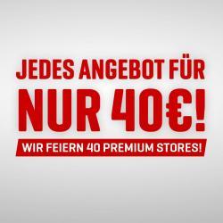 40 Stores = 40,- € für Top Produkte!!!!!!!!!