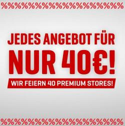 Wir feiern 40 Body Attack Stores! Rabatt-Aktion!