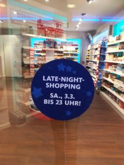 Late-Night-Shopping Samstag 03.03.2018