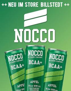 Neu: Nocco BCAA Drink im Geschmack Apfel!