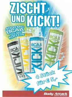 !!! Aktion - BCAA KICK - Aktion !!!