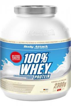 Body Attack 100% Whey - 2,3kg NUR 33,99€