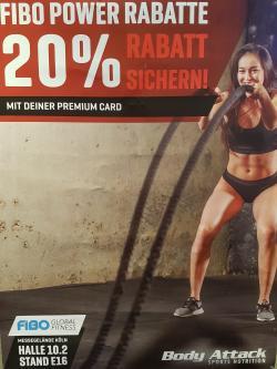 20% FIBO Rabatt für ALLE Premium Card Inhaber
