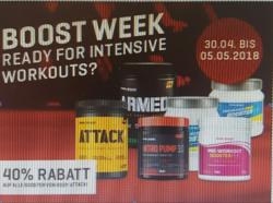 BOOSTER WEEK ( 30.04 - 05.05.2018 ) 40% AKTION