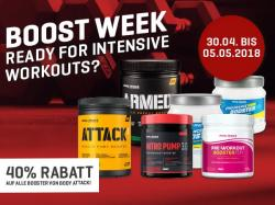Boost Week 40% Rabatt auf alle BA Booster