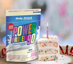 Power Protein 90 Birthday Cake