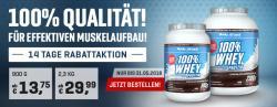 Whey Protein für effektiven Muskelaufbau