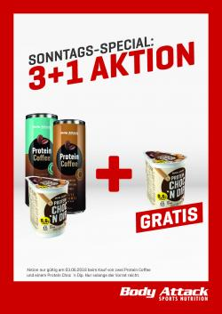 Sonntags-Special 3+1 Aktion