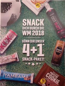 WM 2018  4+1 Aktion