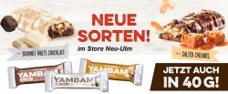 Neue Sorten YAMBAM 40g im Store Frankfurt-Nordwestzentrum