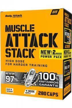 Muscle Attack Stack - Mehr Muskelmasse und Kraft für DICH!