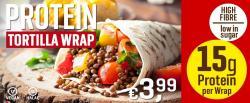 Der NEUE Tortilla Wrap mit Genuss