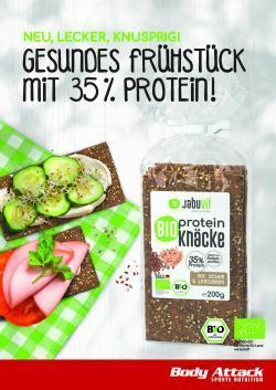 *** NEU! Bio Protein Knäckebrot ***