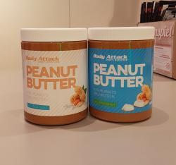Peanutbutter in 2 neuen Geschmäckern