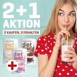 2+1 AKTION! DIET SHAKE 2 KAUFEN +1 GRATIS