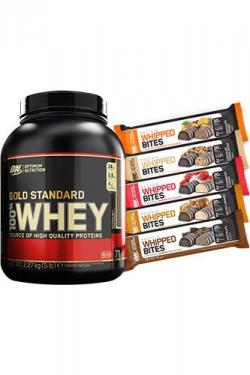 Optimum Nutrition Whey Gold Standard + GRATIS Whipped Bites